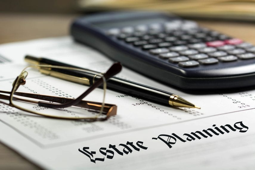 Estate planning: Document and Calculator