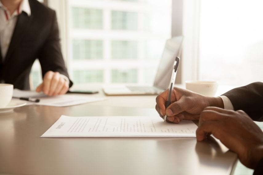Document Signing in Contract Law